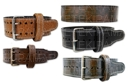 Titan Exotic Embossed Leather Print Prong Belt [под заказ]